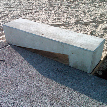 Stool Stone Outdoor Concrete Bench 2012